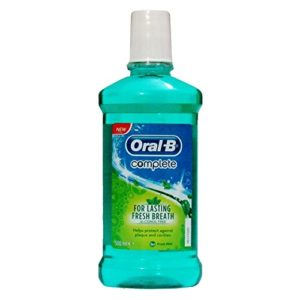 Oral B - Complete Mouthwash, 250 mL, Pack of 4