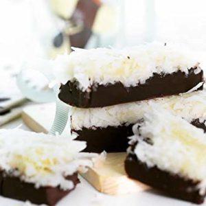Coconut Chocolate Bar, Milk Chocolate-Coconut Flakes, Halal, 1.7 Ounces/50g Bars, 13 Count