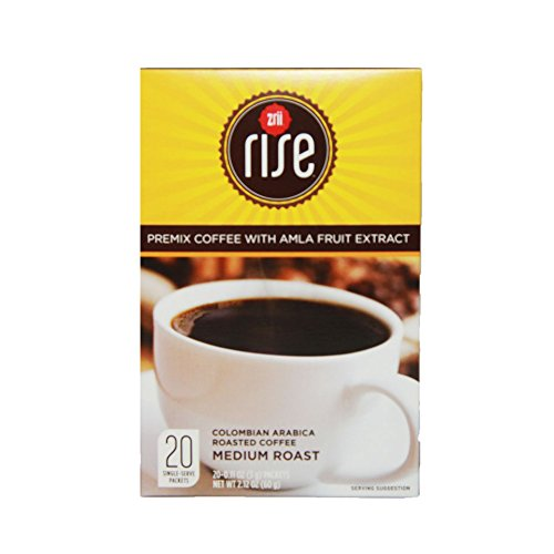 1 box Zrii Rise Premix Coffee with Amla Fruit Extract ( 20 packets ) ( High Performance Coffee )