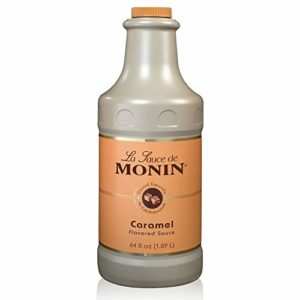 Monin - Gourmet Caramel Sauce, Rich and Buttery, Great for Desserts, Coffee, and Snacks, Gluten-Free, Non-GMO (64 Ounce)