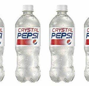 Crystal Pepsi 4 Pack 20fl oz Bottles