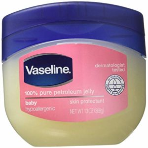 Vaseline 100% Pure Petroleum Jelly, Baby Skin Protectant, 13 Oz,Pack of 4