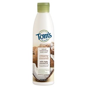 Tom's of Maine Natural Moisturizing Body Wash Soap With Virgin Oil, Coconut, 12 Ounce