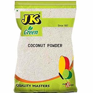 JK DESICCATED COCONUT POWDER 3.53 Oz, 100g - Natural, Vegan & Dairy-free, Non-GMO, Gluten free and NO preservatives!