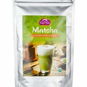 Dragon Herbs - Matcha - 3.5 oz - 100 grams - USDA Certified organic, Superfood Grade, Certified Kosher, Halal, Gluten-Free, Non-GMO, Antioxidant