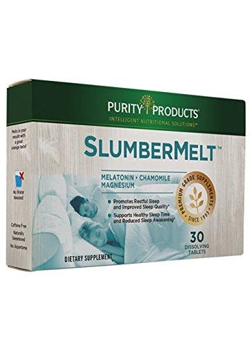 SlumberMelt Sleep Formula - Advanced Melatonin Quick Melt Wafer - 2 mg