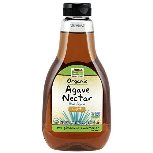 NOW Foods Light Organic Agave Nectar,23.2-Ounce