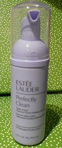 Estee Lauder Perfectly Clean Triple Action Cleanser/Toner/Makeup Remover 1.5 oz