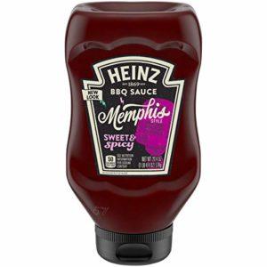 Heinz Memphis Style Sweet & Spicy BBQ Sauce (20.4 oz Bottles, Pack of 6)