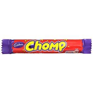 Cadburys Chomp Pack - 23.5g - Pack of 10 (23.5g x 10 Bars)