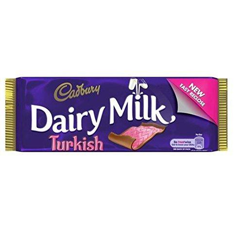 Cadburys Turkish Delight - 47g Irish (Pack of 4)