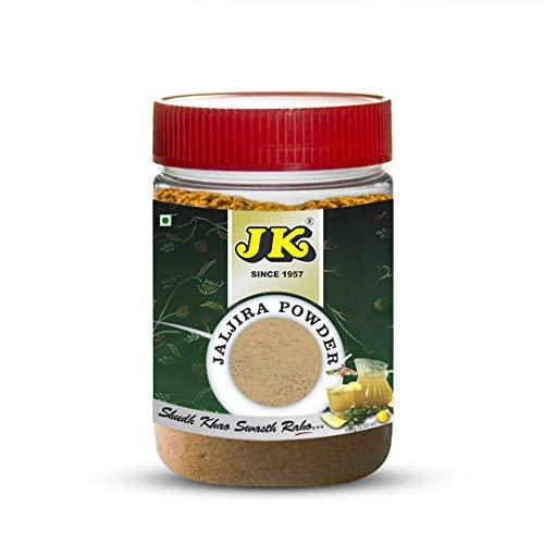 JK JALJIRA POWDER 3.53 Oz, 100g (Jaljeera or Jal Jira Masala Seasoning) Spiced Hydrating All Natural Beverage Powder, Non-GMO and NO preservatives!