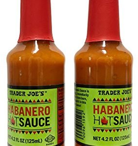 Trader Joes Habanero Hot Sauce - Two Bottles