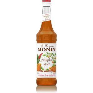 Monin Pumpkin Flavoured Spice Syrup 750 Milliliter