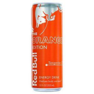8 Pack - Red Bull Energy - The Orange Edition - 12oz