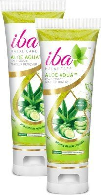 Iba Halal Care Aloe Aqua Face Wash + Makeup Remover (Pack of 2) (100 ml)