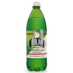 Polar Premium Ginger Ale 1 L Plastic Bottles - Pack of 12