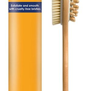 Dry Brushing Body Brush - VEGAN - Cellulite Brush - Gentle Natural Cellulite Massager and Exfoliating Lymphatic Scrub Brush For Radiant and Smoother Skin