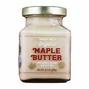 Trader Joe's - Organic Maple Butter NET WT 9.5 OZ (269g)