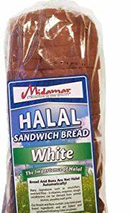 Halal Bread Loaf - Sandwich White - 1 case - 10/24 oz loaves