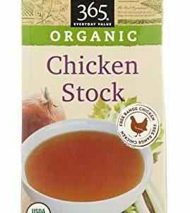 365 Everyday Value, Organic Chicken Stock, 32 fl oz