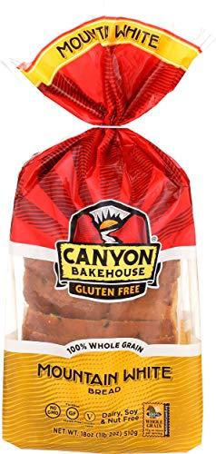 Canyon Bakehouse, Gluten-Free Mountain White Bread, 18 oz (frozen)