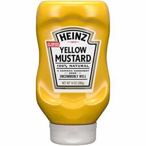 Heinz Yellow Mustard, 14 oz Bottle