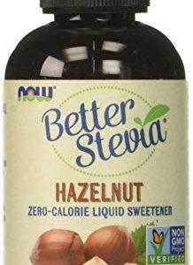 NOW Foods Better Stevia Liquid Sweetener Hazelnut -- 2 fl oz