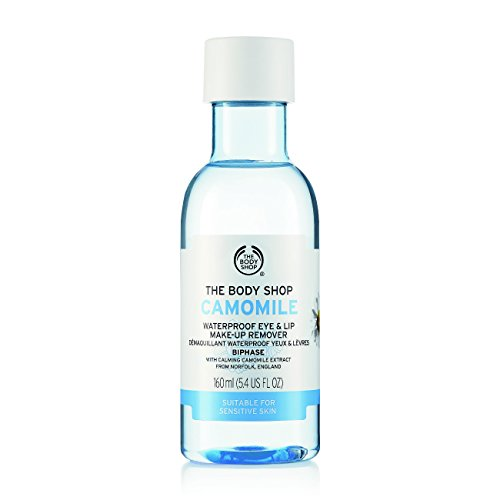 The Body Shop Camomile Waterproof Eye and Lip Makeup Remover, 5.4 Fl Oz