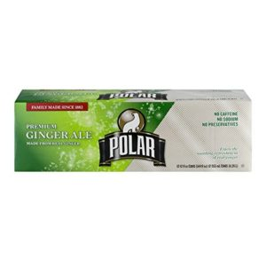 Polar Ginger Ale 12 oz Cans - Pack of 24