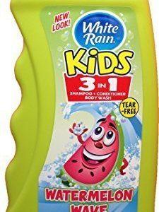 White Rain Kids 3in1 Zany Watermelon Shampoo, Conditioner and Body Wash 12 oz (Pack of 2)