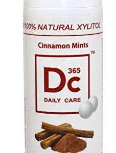 100% Xylitol Sweetened Mints,Cinnamon Flavor,Breath Xylitol Mints,Kosher,Halal,Sugar-free,Promotes Oral Health,Fights Bad Breath,Supports Teeth Health 27g/tube