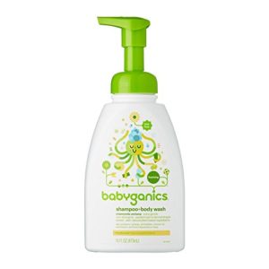 Babyganics Baby Shampoo and Body Wash, Chamomile Verbena, 16 Ounce