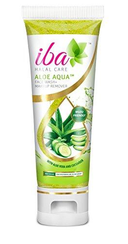 Iba Halal Care Aloe Aqua Face Wash Makeup Remover, 100ml