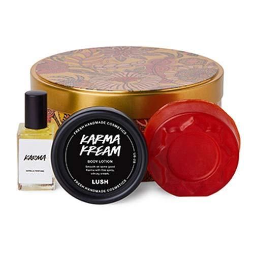 Lush Karma Wrapped Gift (3 Pcs Set: Karma Perfume, Karma Kream Cream, Karma Soap)