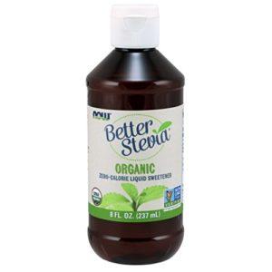 Stevia Extract Organic Now Foods 8 oz Liquid