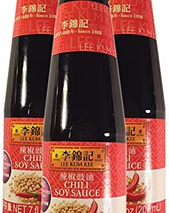 Lee Kum Kee, Chili Soy Sauce, 7 fl oz (Pack of 3)