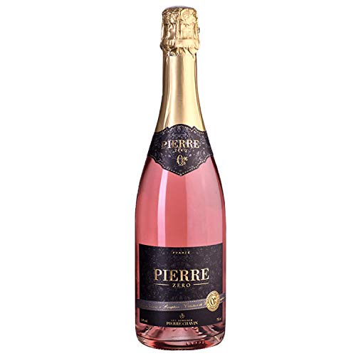 Pierre Chavin Zero Rose Sparkling Non-Alcoholic Sparkling Rose Wine 750 mL