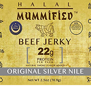 Halal Beef Jerky - Original Silver Nile 2.5 oz (Pack of 2)