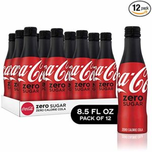 Coke Zero Sugar Diet Soda Soft Drink, 8.5 fl oz, 12 Pack