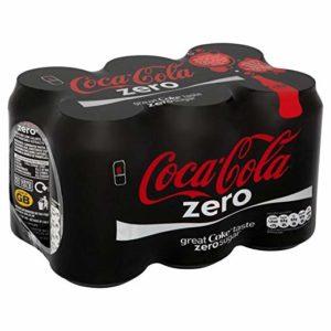 Coca Cola Zero (6x330ml) - Pack of 2