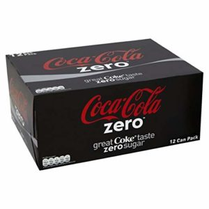 Coca Cola Zero (6x330ml) - Pack of 2