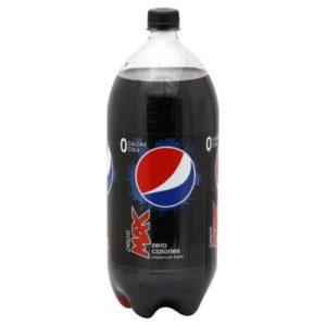 Pepsi Max Cola, Zero Calorie 2 Liter by Pepsi Max