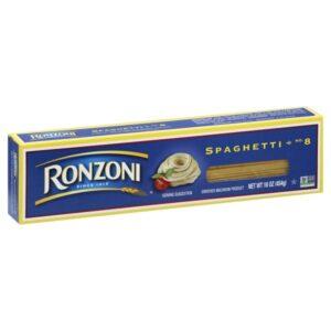 Ronzoni Spaghetti, 16 oz (Pack of 20)
