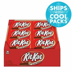 KIT KAT Candy Bar, Milk Chocolate Covered Crisp Wafers, 1.5 Ounce Bar