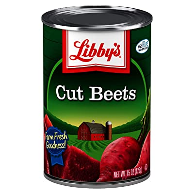 Libby's Cut Beets, 15 oz (Pack of 12)