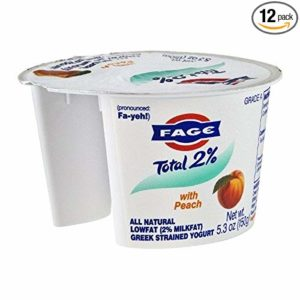 FAGE YOGURT GREEK TOTAL 0% WITH BLUEBERRY ACAI 5.3 OZ PACK OF 6
