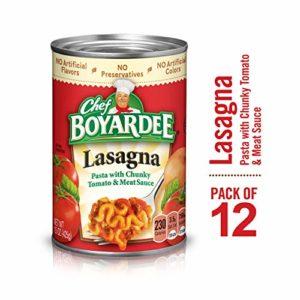 Chef Boyardee Lasagna, 15 oz, 12 Pack