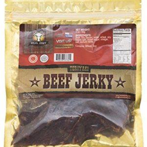 Halal Jerky - Teriyaki Flavor 4-pack (3 Oz Bag)