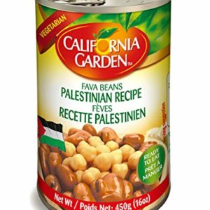 California Garden, Fava Beans Palestinian Recipe Arabic Halal Chick Peas, 16 oz